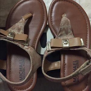 Mk toddler sandals
